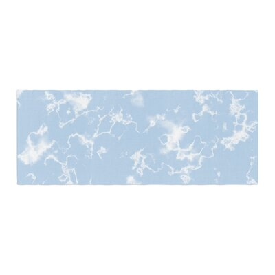 Vasare Nar Marble Clouds Bed Runner