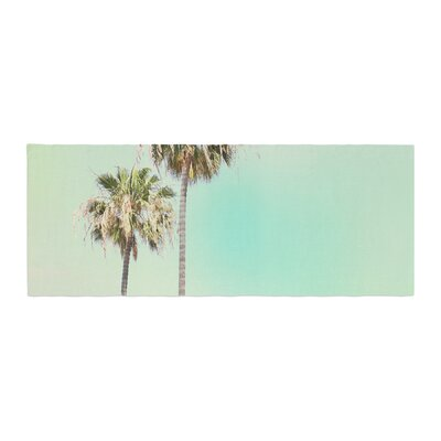 Sylvia Coomes Palm Trees Photography Bed Runner
