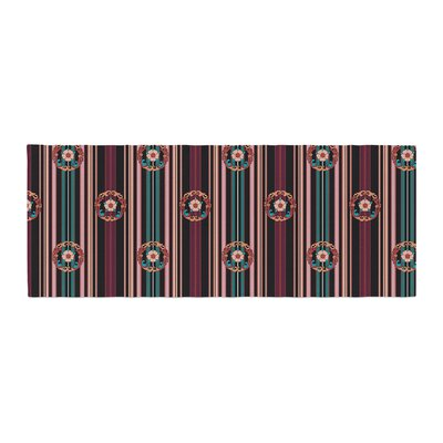 Victoria Krupp Nouveau Illustration Bed Runner