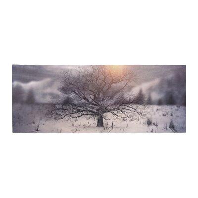 Viviana Gonzalez Lone Tree Love II Bed Runner