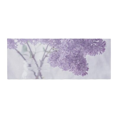 Suzanne Harford Lilacs Floral Bed Runner