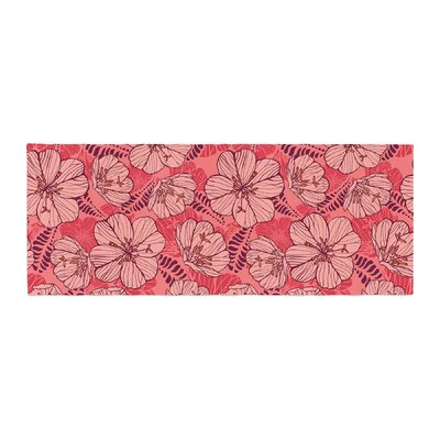 Suzie Tremel Flutter Floral Petals Bed Runner