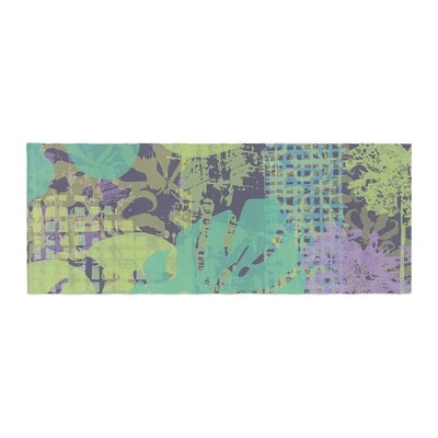 Chickaprint Verdure Collage Bed Runner