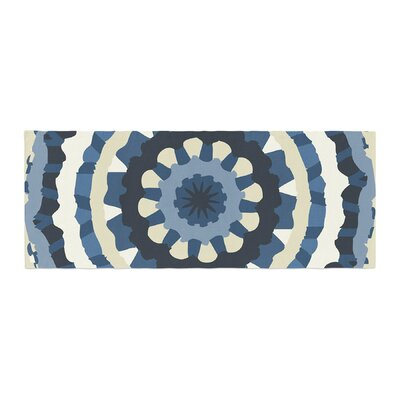Laura Nicholson Ribbon Mandala Bed Runner