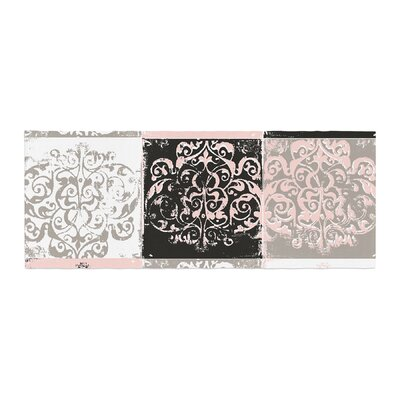 Matthias Hennig Soft Dots Floral Bed Runner