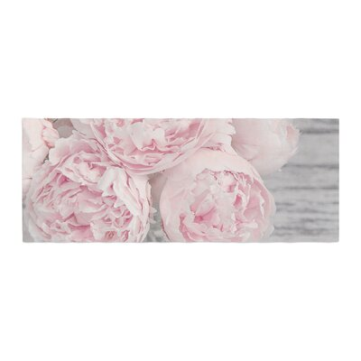 Suzanne Harford Peony Flowers Floral Photography Bed Runner