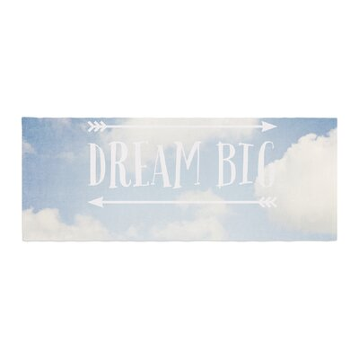 Susannah Tucker Dream Big Clouds Bed Runner
