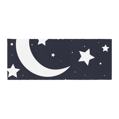 Moon and Stars Bed Runner
