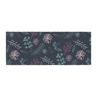 Louise Flower III Bed Runner
