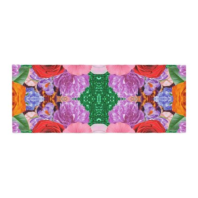 Vasare Nar Kaleidoscopic Flowers Bed Runner