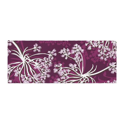 Suzie Tremel Squiggly Floral Bed Runner