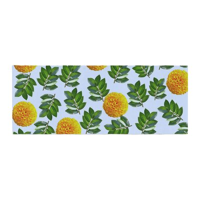 Sreetama Ray More Marigold Bed Runner