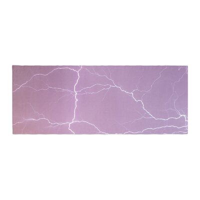 Lightning Bed Runner