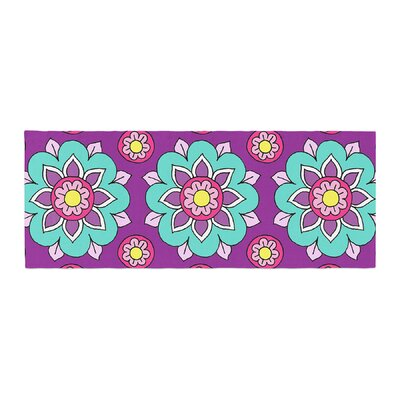 Sarah Oelerich Bright Blossoms Bed Runner