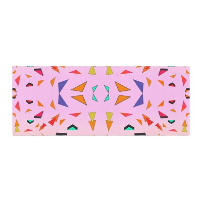 Vasare Nar Candy Land Tropical Geometric Bed Runner