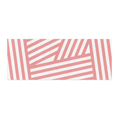 Louise Machado Rose Stripes Bed Runner