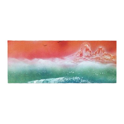 Infinite Spray Art Dream Seascape Bed Runner