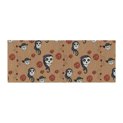 Stephanie Vaeth Calaveras Bed Runner