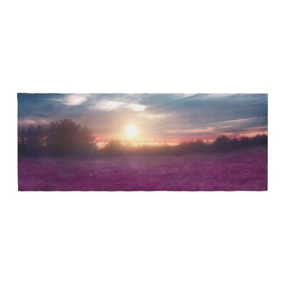 Viviana Gonzalez Sunset I C. Photography Bed Runner