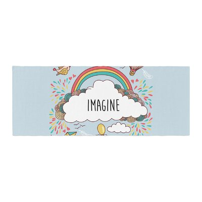 Imagine Fantasy Illustration Bed Runner