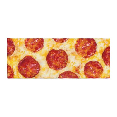 Pizza My Heart Pepperoni Cheese Bed Runner