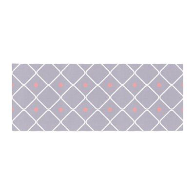 Lilac Web Bed Runner