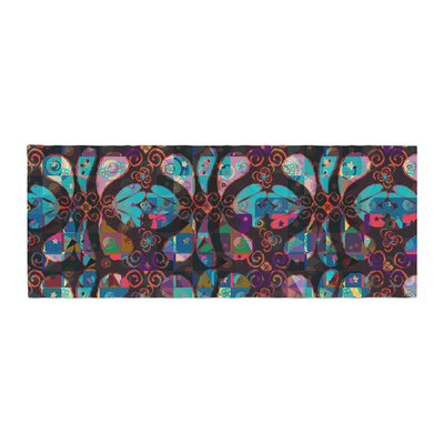 Suzanne Carter Pattern Abstract Bed Runner