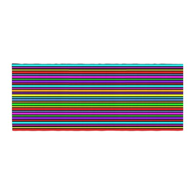 Trebam Kolor Stripes Bed Runner