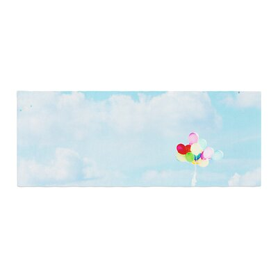 Sylvia Coomes Balloons in the Sky Photography Kids Bed Runner
