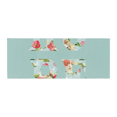 Suzanne Carter Hope Floral Bed Runner