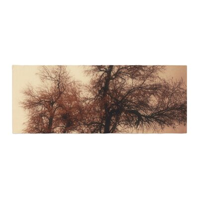 Sylvia Coomes Rust Trees Photography Nature Bed Runner