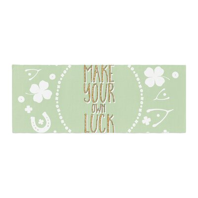 Own Luck Bed Runner