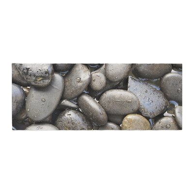 Susan Sanders Skipping Stone Rocks Bed Runner