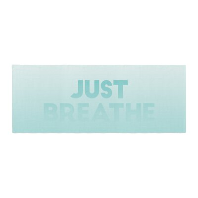 Just Breathe Bed Runner