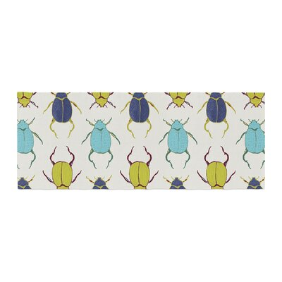 Laurie Baars Beetles Bed Runner