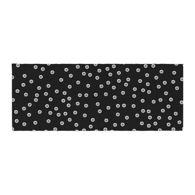 Skye Zambrana Watercolor Dots Bed Runner