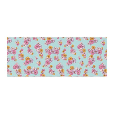 Laura Escalante Paper Flower Bed Runner