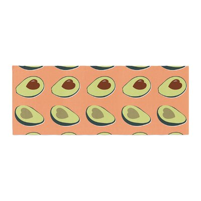 Avacado Love Food Bed Runner
