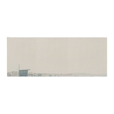 Laura Evans Summer Haze Coastal Bed Runner
