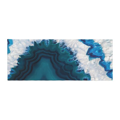 Geode Nature Photography Bed Runner
