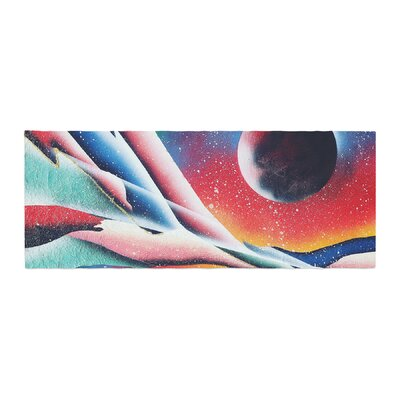 Infinite Spray Art String Theory Bed Runner