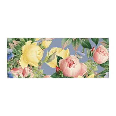 Island Dreams Illustration Bed Runner