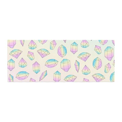 Strawberringo Diamonds Vector Bed Runner