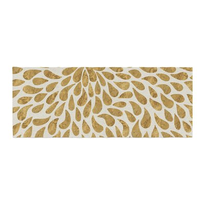 888 Design Abstract Flower Bed Runner