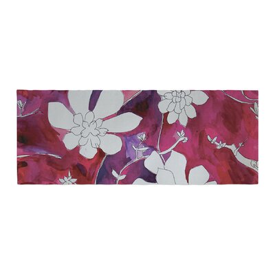 Theresa Giolzetti Succulent Dance II Bed Runner
