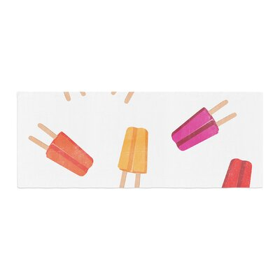 Raining Popsicle Digital Bed Runner