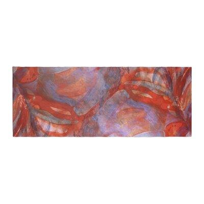 Theresa Giolzetti Seaweed Bluish Bed Runner