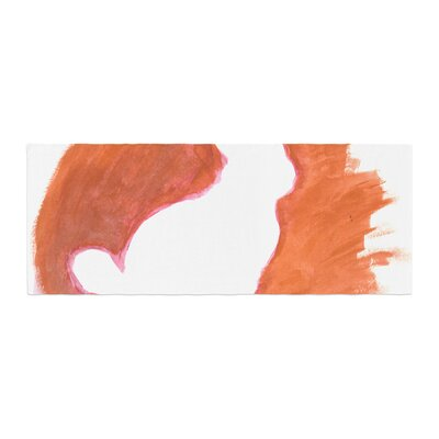 Theresa Giolzetti You a Bunny Abstract Paint Bed Runner