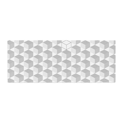 Cubed Geometric Bed Runner