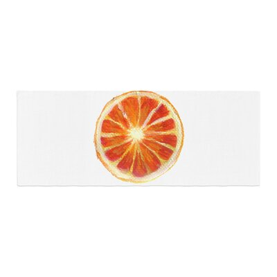 Theresa Giolzetti Grapefruit Bed Runner